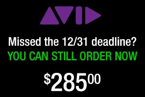 You can still purchase Avid Media Composer & Symphony Support / upgrades for $285 from Videoguys!