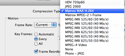 Export H.264 from Avid MC5 with MAX