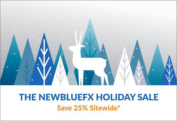 25% Off NewBlue FX VFX Software
