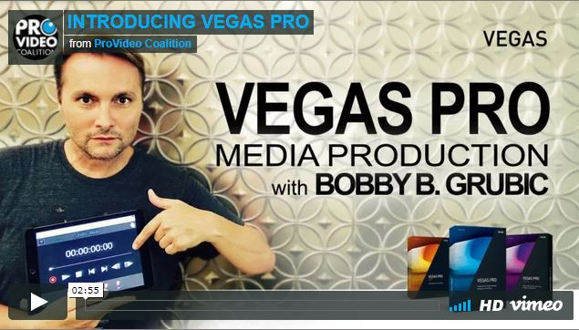 "Vegas Pro is Your All In One Post Production ""Must Have"" NLE Companion"