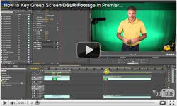 How to Key Green Screen DSLR Footage in Premiere Pro CS5