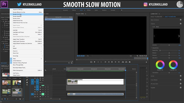 Perfect Premiere Pro Slow Motion Tutorial