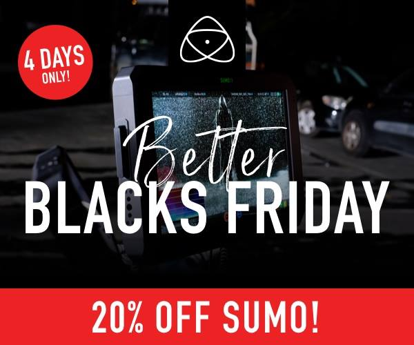 20% Off Atomos Sumo and FREE Sunhood!