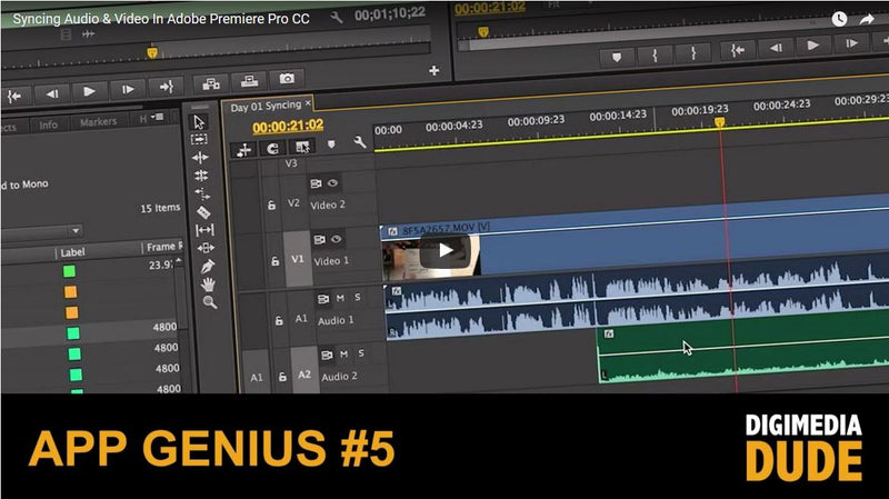 Learn How to Sync Audio and Video in Adobe Premiere Pro CC