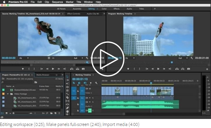 How to Edit Videos with Premiere Pro CC