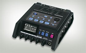 Audio Assist: Roland R-44 Four-track recording in the field
