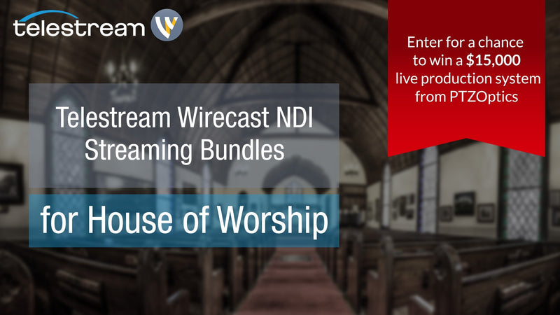 Telestream Wirecast NDI Streaming Bundles