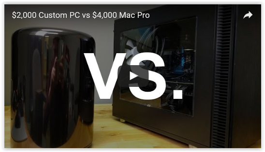 $2,000 DIY Custom PC Blows Away  Mac Pro