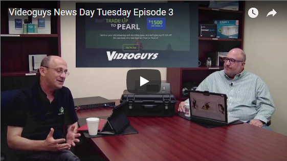 Videoguys News Day 2sday Ep 3: Interview with Epiphan
