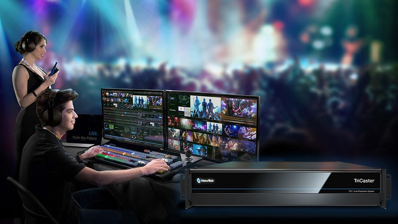 NewTek TriCaster TC1: Choosing the Right Components/ Bundle for Your Productions