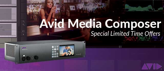 Free software with Avid Media Composer