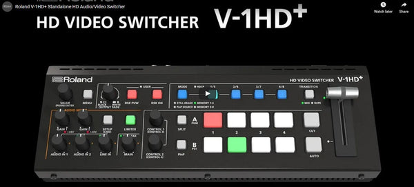 NEW! Roland V-1HD+ HD Video Switcher