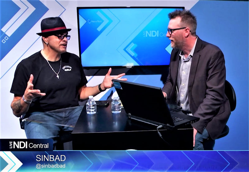 NAB 2017: Interview with Sinbad, Comedy Legend and Internet TV Pioneer | NewTek Studio