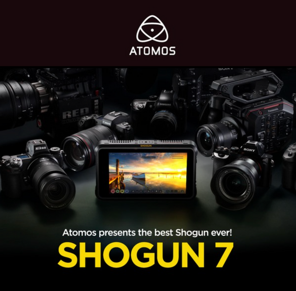 Switch to the best Shogun - Atomos Shogun 7