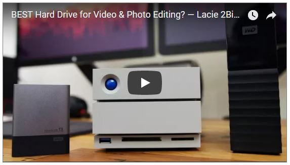 Is the LaCie 2Big 20TB the BEST Hard Drive for Video & Photo Editing?