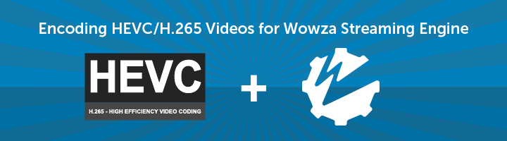 Wowza Streaming Engine Tutorial: Encoding in HEVC / H.265 Video