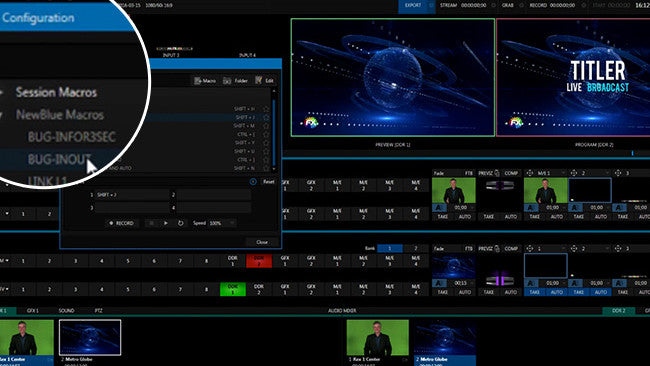 NewBlue's Titler Live Broadcast goes for NewTek NDI