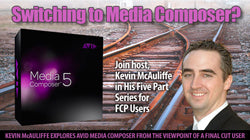 Creative COW: Wanna Switch? Avid Media Composer video tutorials