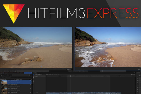 Is Hitfilm 3 the Lightroom of NLEs?