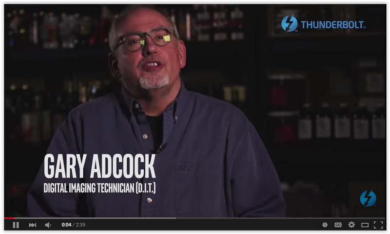 Gary Adcock on using Thunderbolt storage for 4K workflows