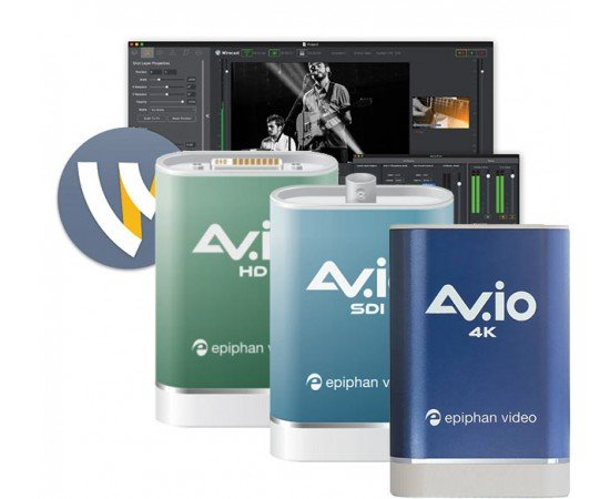Epiphan Av.io Multi-Camera Streaming Bundles Now with Wirecast 7