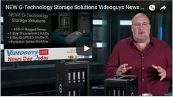 NEW G-Technology Storage Solutions Webinar