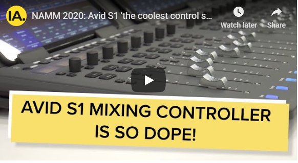 See Why the Avid S1 is the World's the Coolest Control Surface
