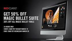 Red Giant 24hr Magic Bullet Suite Flash Sale!