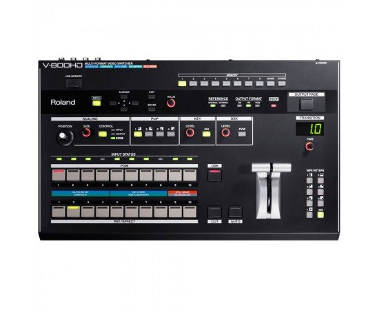 Roland v-800HD Multi-format Video Switcher Makes Conference Presentations Seamless