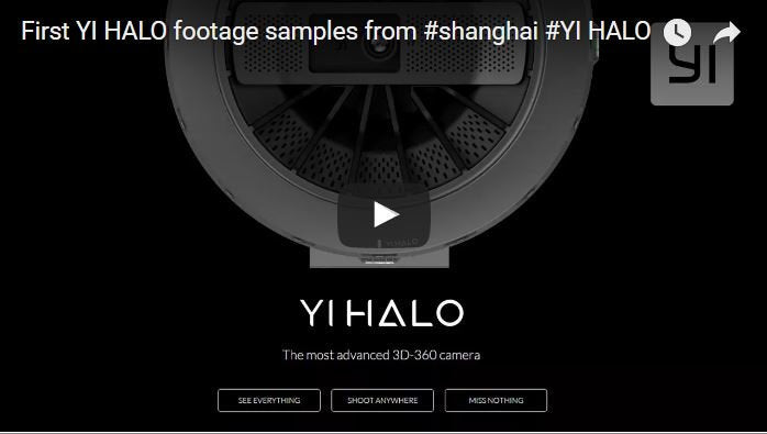 First YI HALO Footage Samples from #shanghai #YI HALO