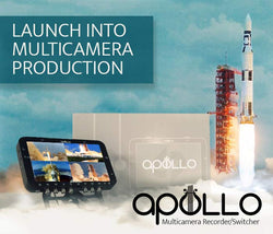 Apollo Multicamera Switcher/Recorder Now Shipping
