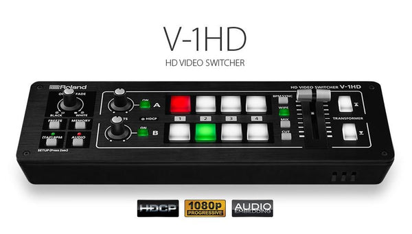 Hands on Review: Roland V-1HD Audio and Video Switcher
