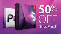 Adobe SWITCHer is BACK! Save 50% Off when you make the SWITCH to Adobe CS5.5 Production Premium