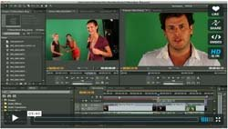 DSLR Workflow in Premiere Pro CS5 - Keying, Time Remapping & Stills