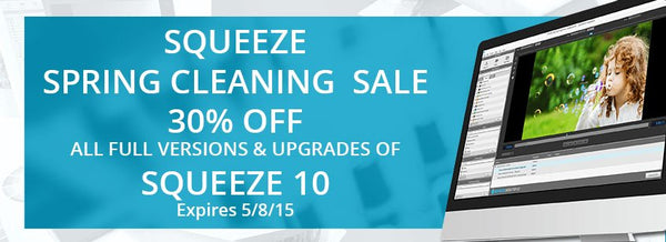 SQUEEZE SPRING CLEANING SALE!