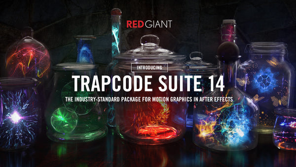 Red Giant Releases Trapcode Suite 14