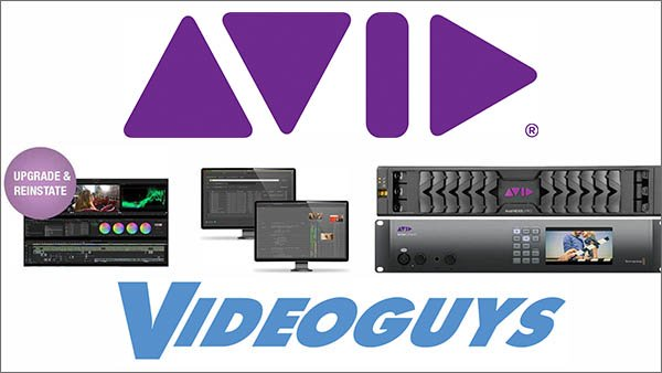 Check out our Avid Webinars! Big News, Great Promos & New Bundles