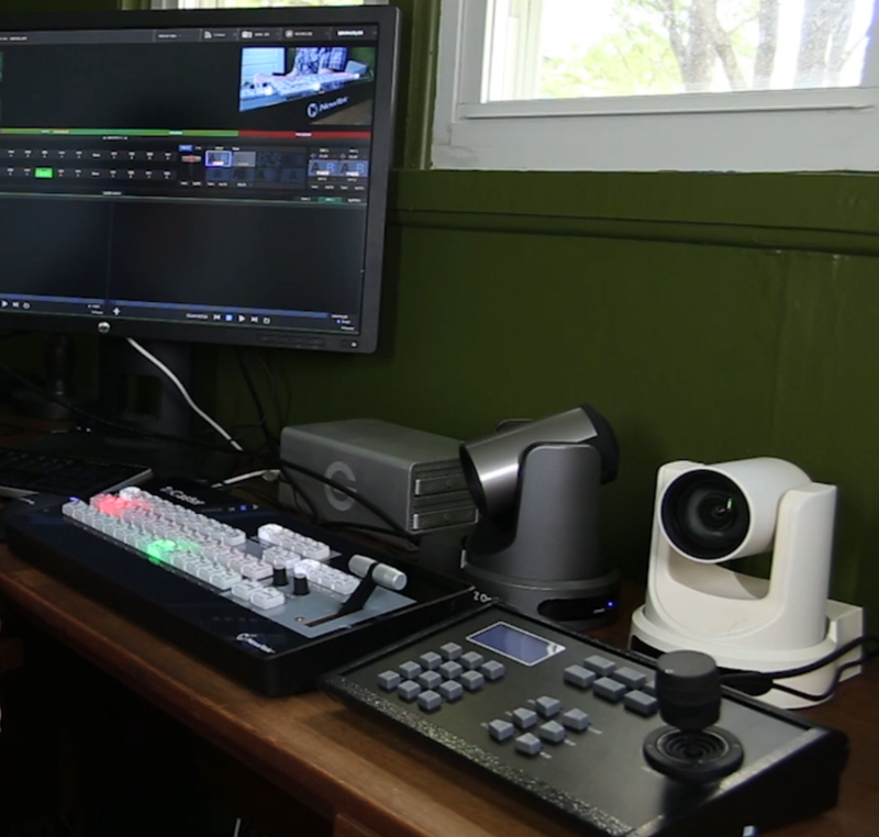 Video Tutorial: Stream Live Events with PTZOptics Cameras and the NewTek TriCaster Mini