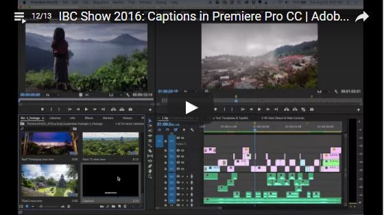 Preview the New Features in Adobe Premiere Pro CC and Media Encoder CC