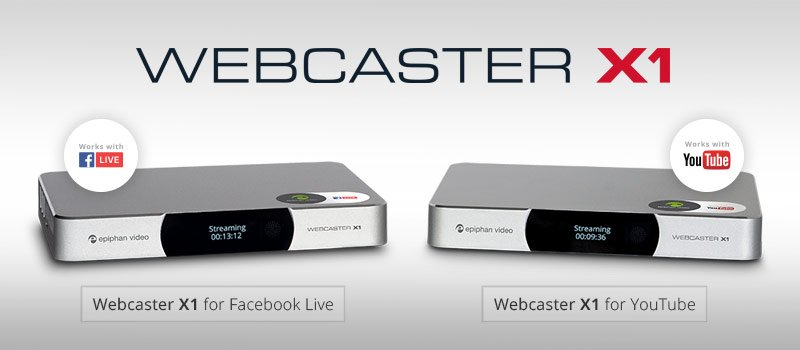 Epiphan Webcaster X1 Easy Streaming Solution to Facebook Live or YouTube for under $300