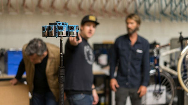 Shinola's Stereoscopic 360 Video Ft. Luke Wilson Shot by Reel FX