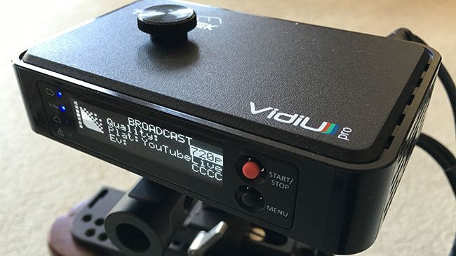 Teradek VidiU Pro simplifies live streaming