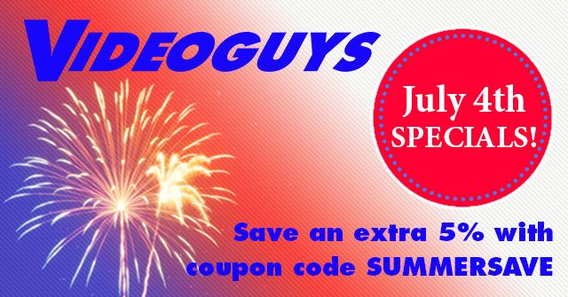Don't Miss Our July 4th Specials!