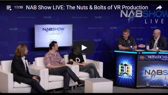 360Heros Talks VR at NAB