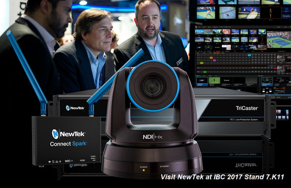 Newtek at IBC: End-to-End NDI IP Video Production