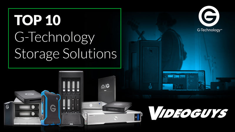 Top 10 G-Technology Storage Solutions - 2017