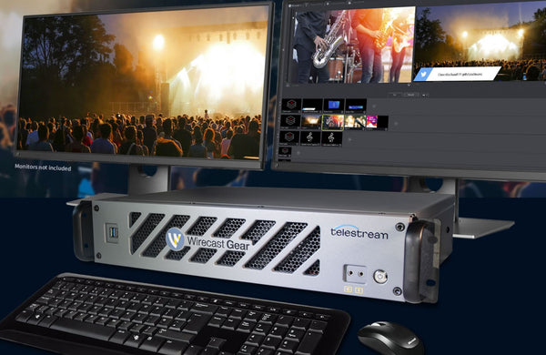 Telestream Wirecast Gear 2 To Launch at IBC
