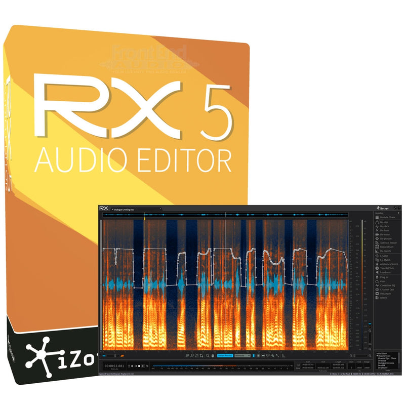 Professional Reviews iZotope RX5 Audio Editor Software