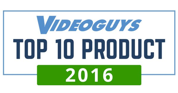 Videoguys to Announce Top 10 Products of 2016 on Facebook Live Tuesday Jan 10 at 2pm ET