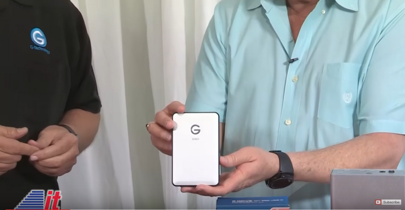 Into Tomorrow TV: G-Tech Storage Drives